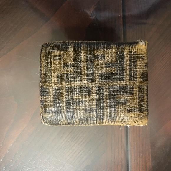 Fendi Handbags - AUTHENTIC men's Fendi Wallet with ID window